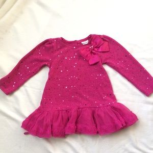 Tulle and sequin dress 4T